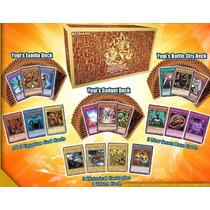 Yugioh Legendary 3 Decks Yugi Exodía Dioses Egipcios Ingles!