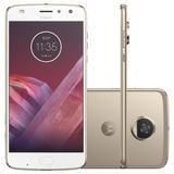 Celular Motorola Moto Z2 Play Sound Edition 4g 64gb Dourado