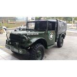 Dodge M37 Pata Choca Militar Original Coleção Antigo Dh Td