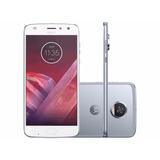 Telefone Celular Motorola Moto Z2 Play 64gb Azul Topázio