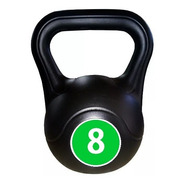 Pesas Rusas Kettlebell Plastica 8kg Fitness Deporte Functional Funcional