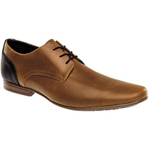 Zapatos Benedetto Shoes 200 Camel Negro Pv