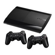 Console Playstation 3 Super Slim + 2 Controles