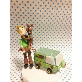 Scooby Doo, Adorno Torta Porcelana.souvenirsflorenciaromano