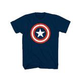 Remera Capitan America Avengers Marvel Logo Iron Man Hulk