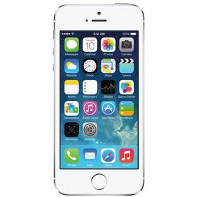 Iphone 5s 32gb Prata Mt Bom Seminovo C/ Garantia E Nf