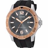 Reloj Lorus By Seiko Rh976dx9 Hombre Deportivo Negro