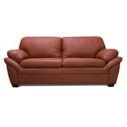 Sofa De Piel - Génova - Conforto Muebles