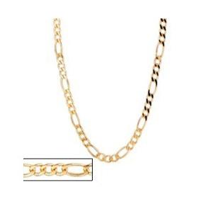 Corrente Masculina 3x1 1,50 Laminado Folheado Ouro.med 60 C