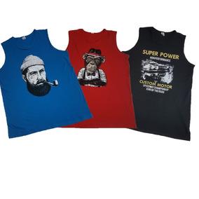 f7f23ff3c5a Camiseta Regata Masculina Tamanho G2 - Camisetas e Blusas no Mercado ...