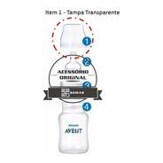 Tampa Transparente Para Mamadeiras Classic - Philips Avent