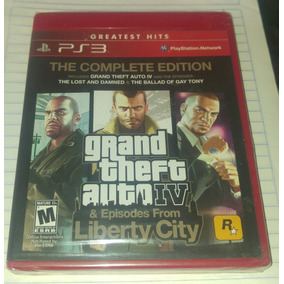 Grand Theft Auto Iv Complete Edition Nuevo Sellado Ps3
