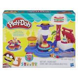 Play Doh Fiesta De Tortas Moldes Y Plastilina