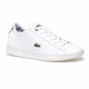 Tenis Lacoste Blanco Unisex 100% Original !! Envio Gratis !!
