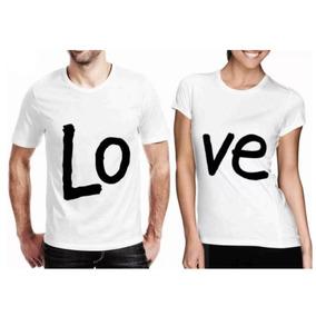 Camisetas Blusas Personalizadas Love Namorados Unissex 0208