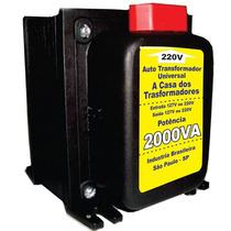 Auto Transformador Conversor De Voltagem 2000va 110v/220v