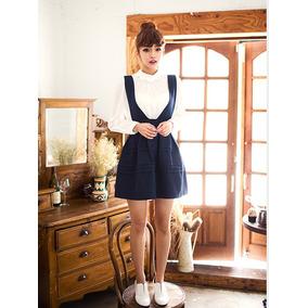 Vestido Ampón Juvenil De Tirantes 2202