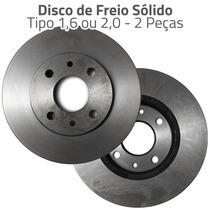 Par Disco Freio Sólido Fiat Tipo I.e 1.6 2.0 1993 Em Diante