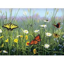 Rompecabezas Mariposas Flores Hautman Bro. 1000 Pz Buffalo.