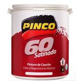 Pintura Pinco Satinada/brillo De Seda/clase A/blanco/lavable