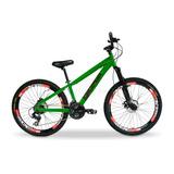 Bicicleta Aro 26 Gios Br Shimano 21v Freio Disco Vmaxx Top