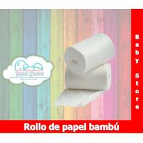 Rollo Papel Bambú Pañal Ecológico Babystore