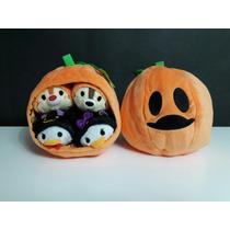 Tsum Tsum Halloween 4 En Calabaza Disney Donald Daisy Chip