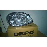 Faro Derecho Chevy Confort C2 2007/2008 Depo