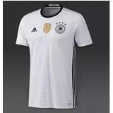 Camiseta De Alemania Blanca