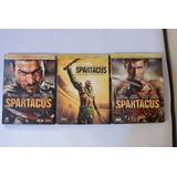 Temporada 1-2-3 Spartacus 4dvds En Digipack