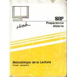 Libro Metodología De La Lectura Preparatoria Abierta + Envío