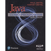 Java Como Programar Deitel 10 Edicion Pearson + Regalo
