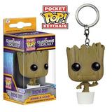 Dancing Groot Pocket Pop Llavero Guardianes De La Galaxia