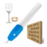 Caneta Gravador Eletrico Em Metais Vidros Madeira Plasticos