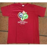 Remera Oficial Mundial Alemania 2006 Original Excelente