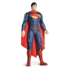 Boneco Superman Gigante 55cm Bandeirante 8096 Original Fg