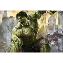 Painel Decorativo Festa Infantil David Banner Hulk (mod4)