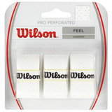Overgrip Wilson - Pro Overgrip Perforated Wh Blanco - Tenis