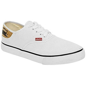 Zapatos blancos LEVI′S para mujer 6EbxXk