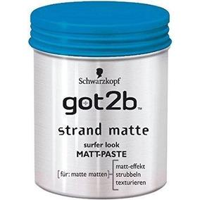 Got2b Strand Matte Pasta Modeladora Efeito Seco Schwarzkopf