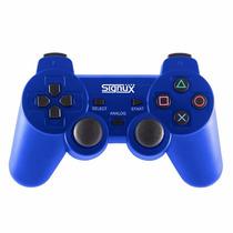 Joystick Inalambrico Analogico Para Playstation 3 Ps3 Azul
