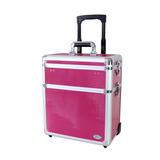 Maleta Profissional Cabeleireiro Jacki Design - Rosa Pink