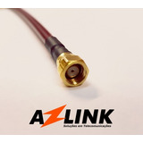 Pigtail De Alta Performance Azlink - Sma-sma (0.5m) - Par