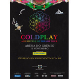 2 Ingressos Cadeira Inferior Inteira - Coldplay Porto Alegre