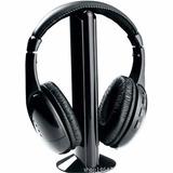 Auriculares Para Tv Inalámbricos Wireless Headphone 5en1