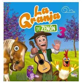 Cd Oficial Las Canciones De La Granja De Zenón Vol 3