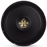 Alto Falante Woofer Eros Hammer 5.2k 2600w Blake Aluminio