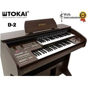 Órgão Eletrônico Tokai - D2 Web Instrumentos Sorocaba