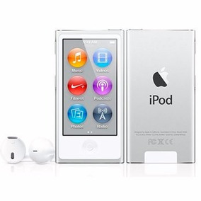 Ipod Nano 7th Geração 16gb - Prata Lacrado - Original Apple