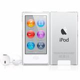 Ipod Nano 7th Geração 16gb - Prata Lacrado - Original Apple